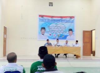 Suasana Bukber Ansor, KNPI dan Kanpora Boltim.
