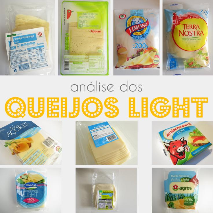 Análise dos Queijos Light Magros à Venda em em Portugal