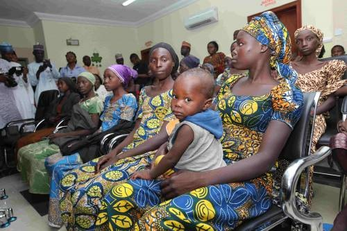 When The Presidency Met The Chibok 21: See Full Name List, Photos Of All The Girls, Mostly Christians