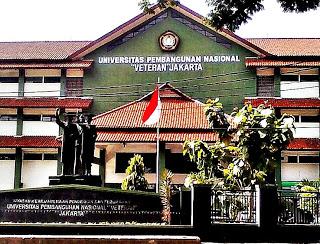 "Info Pendaftaran Mahasiswa Baru (UPN VETERAN JAKARTA) Universitas Pembangunan Negeri ""Veteran"" Jakarta"