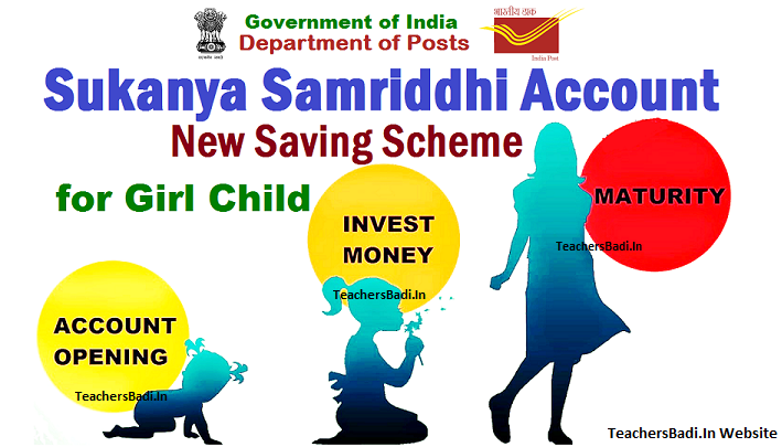 """GoI, PM launched Sukanya Samriddhi Saving Account/Sukanya Samriddhi Yojana Scheme for the benefit, welfare, to ensure survival, protection and enabling the education of the Girl Child as a part of Beti Bachao – Beti Padhao"""" Campaign. Rate of Interest of SSA is 9.1%, Special Deposit Scheme for Girls, SSA scheme details,Sukanya Samriddhi Saving Account Feature"""
