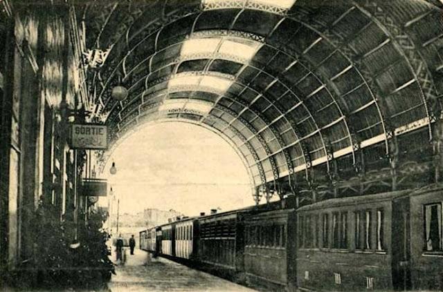 محطة مصر من الداخل 1921 Alexandria train station