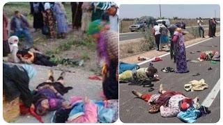 عمدون: سقوط 4 عاملات فلاحيات من شاحنة خفيفة
