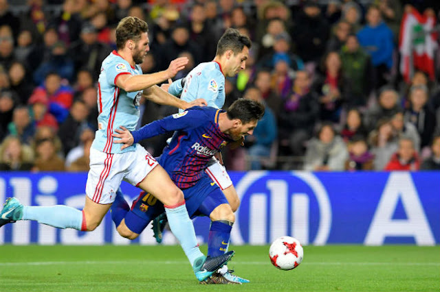 Video Barcelona - Celta Vigo: Messi thăng hoa, tiệc 5 bàn thịnh soạn