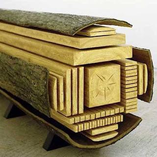membelah lantai kayu