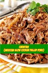 #Carnitas #Mexican #Slow #Cooker #Pulled #Pork