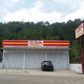 Orderan Rak Minimarket dan Perlengkapan Toko Eba Mart Serang