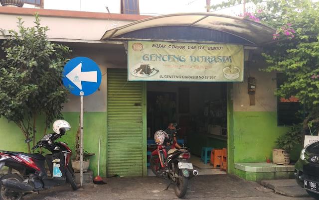 Rujak%2BCingur%2BGenteng%2BDurasem Rekomendasi Tempat Makan Enak dan Terfavorit di Surabaya