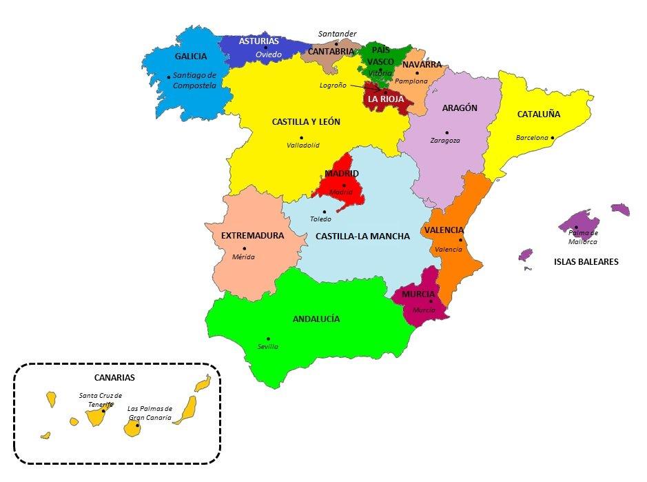 Mapa Flash Provincias España.Tutoria 6º Peralejo Mapas Flash Para Aprender Provincias Espana