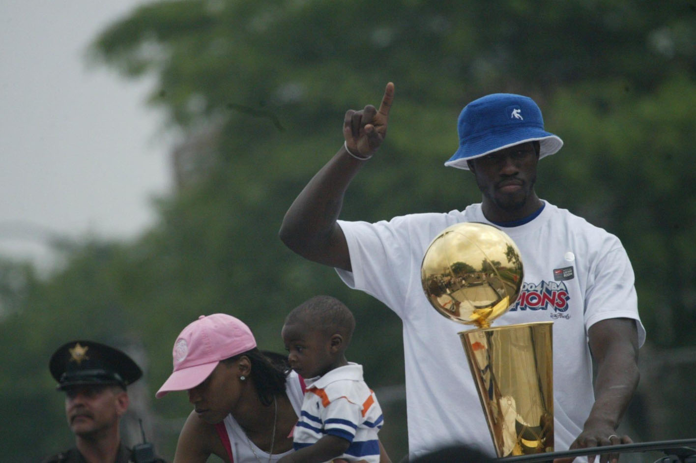 Detroit Pistons' Ben Wallace to be first undrafted player inducted into Hall of Fame