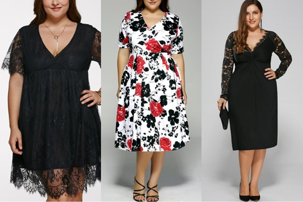Vestidos Plus Size da Rose gal