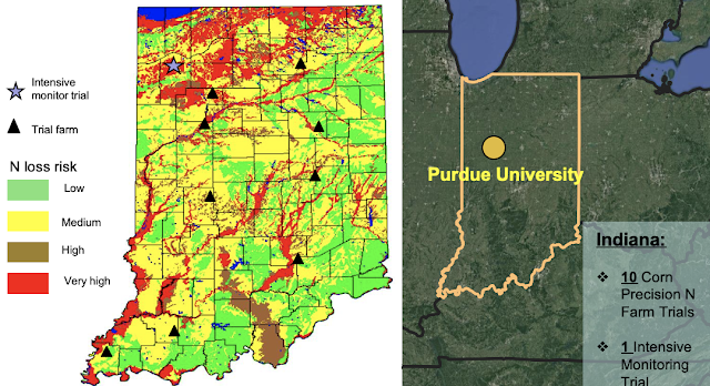 Indiana on-farm precision nitrogen management research
