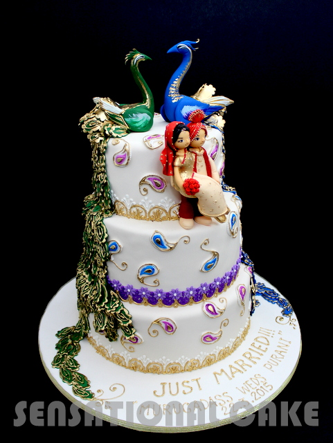 The Sensational Cakes Classic Grand Royal Indian Theme