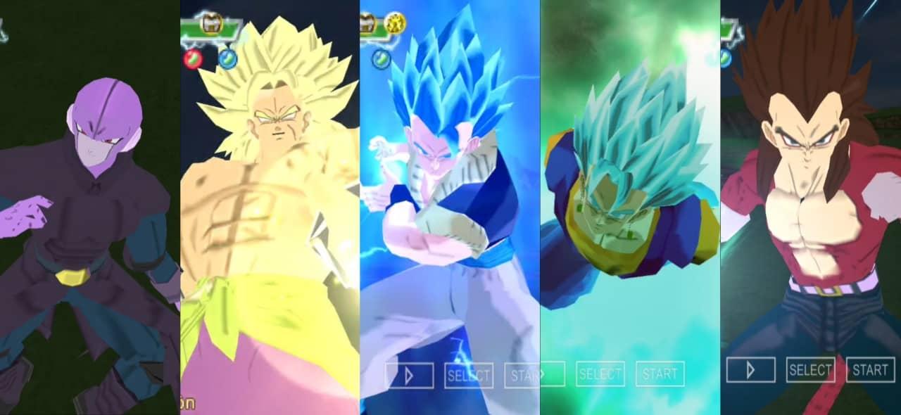 Dragon Ball Super Movie Broly DBZ TTT Mod