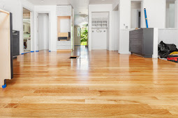 The Forest Modern: Our Aged French Oak Hardwood Floors