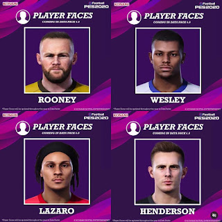 PES 2020 Extracted Facepack from DLC 4.0