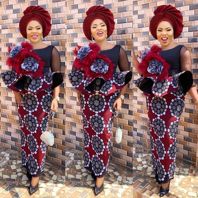The 20 Best of Owambe Aso Ebi Dresses 15