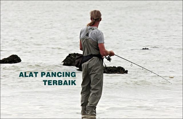 Peralatan mancing di laut dan sungai untuk para angler pemula