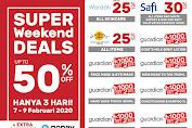 Promo Guardian Weekend Super Deals 21 - 23 Februari 2020