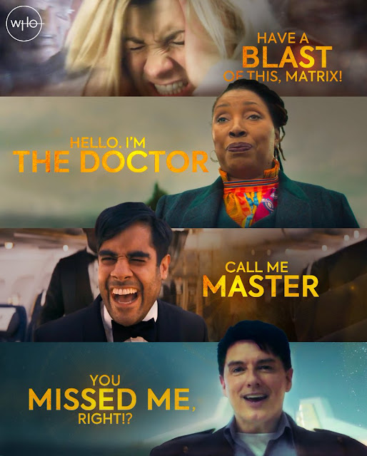 Doctor Who 2020 highlights – Jodie Whittaker (the Doctor), Jo Martin (the Doctor), Sacha Dhawan (the Master), John Barrowman (Captain Jack)