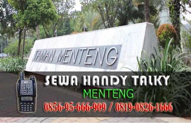 Pusat Sewa HT Menteng Pusat Rental Handy Talky Area Menteng
