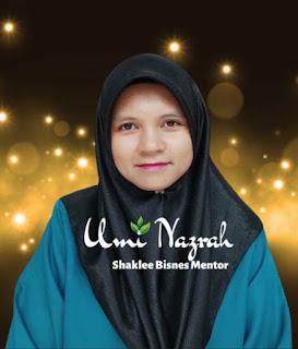 Umi Nazrah Pengedar Shaklee Sik Kedah