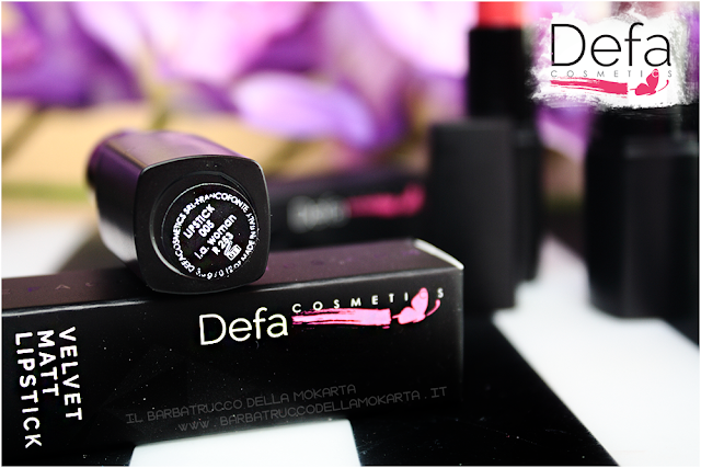 L.A. woman Defa cosmetics lipstick recensione