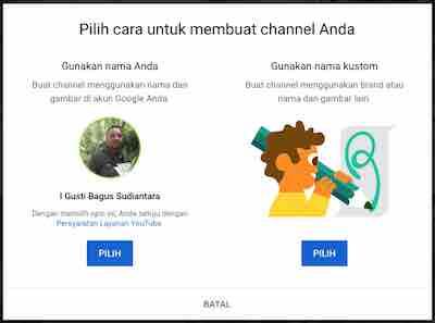 cara membuat channel