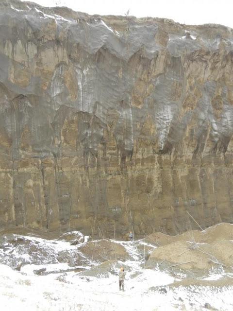 'Porta il cratere sotterraneo' sta aiutando gli scienziati mappa storia del clima della Terra