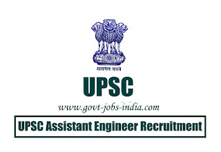 UPSC Assistant Engineer Recruitment 2020