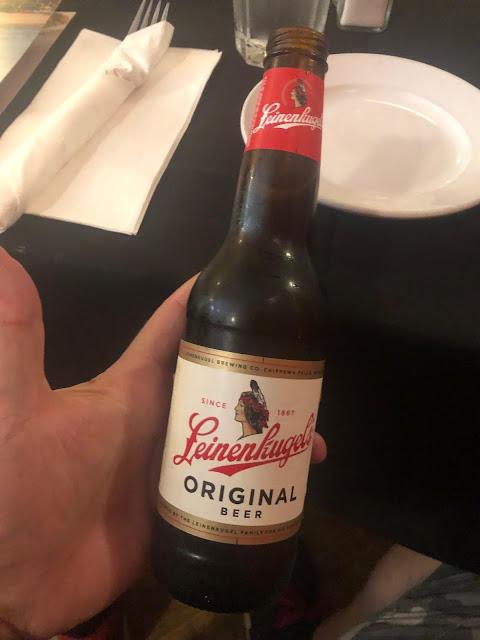 Flasche der Leinenkugel Brewing Company aus Chippewa Falls, Wisconsin