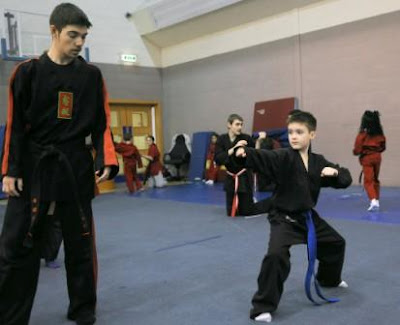 military kids stay fit to fight