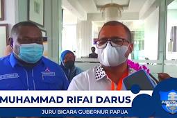 Lukas Enembe Bahas Kursi Wakil Gubernur Papua Pengganti Klemen Tinal