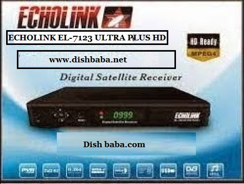 Echolink el-7123+ ultra plus HD