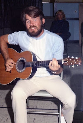 Christopher Cody Rogers' late father Kenny playing guitar
