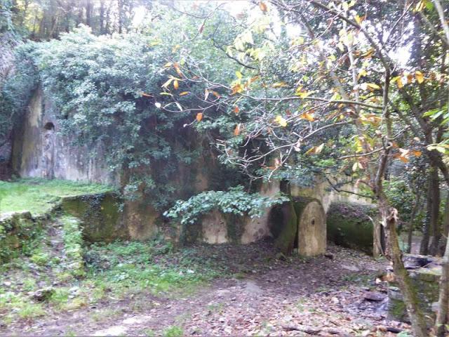 Cisternone nella Valle delle Fonti di Asciano