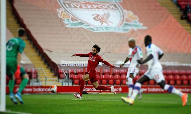 Liverpool-Crystal Palace 4-0, Liverpool se rapproche du titre