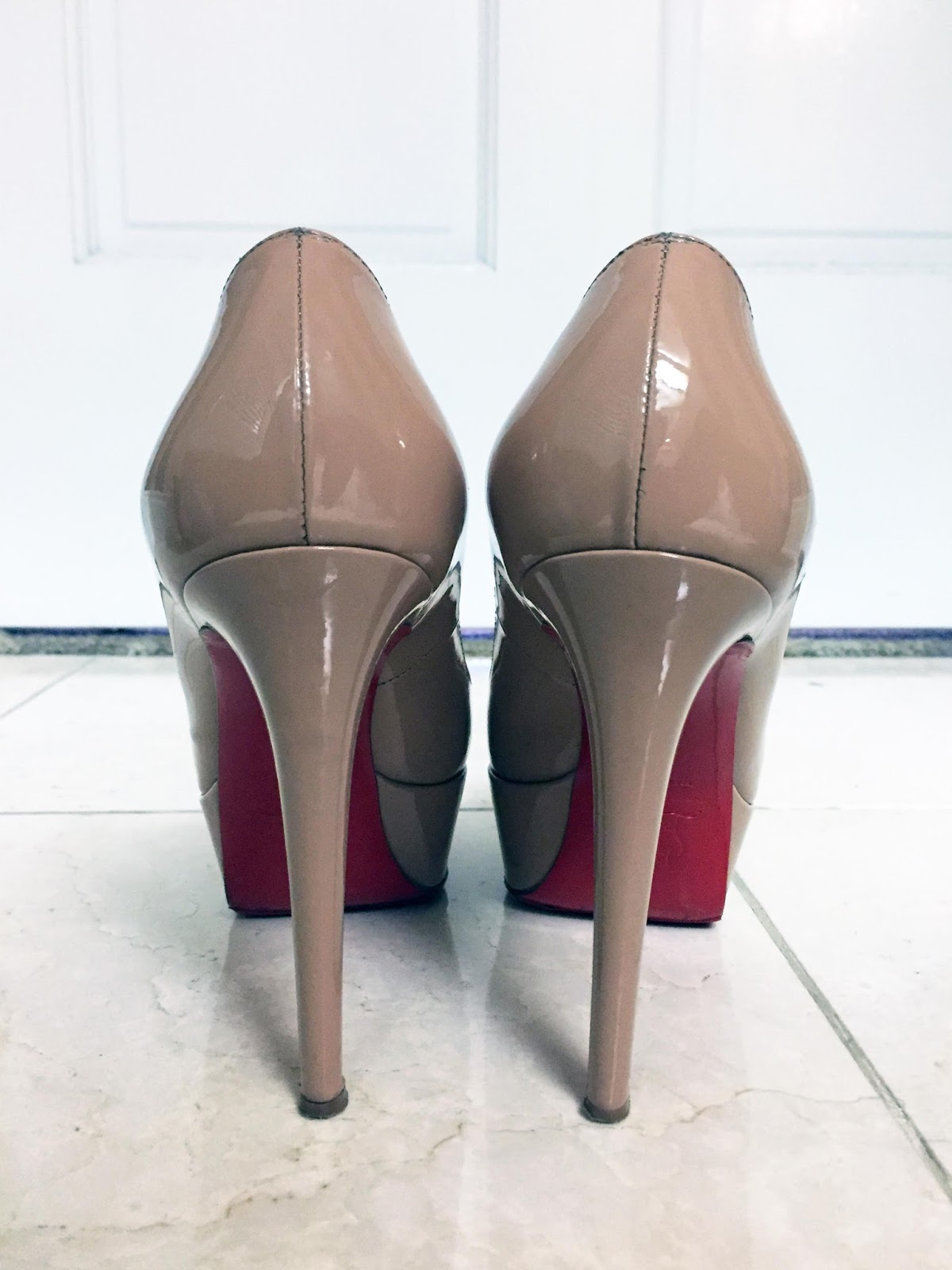 save off b97f8 3a91c My Superficial Endeavors: Christian Louboutin Nude Bianca Pump!