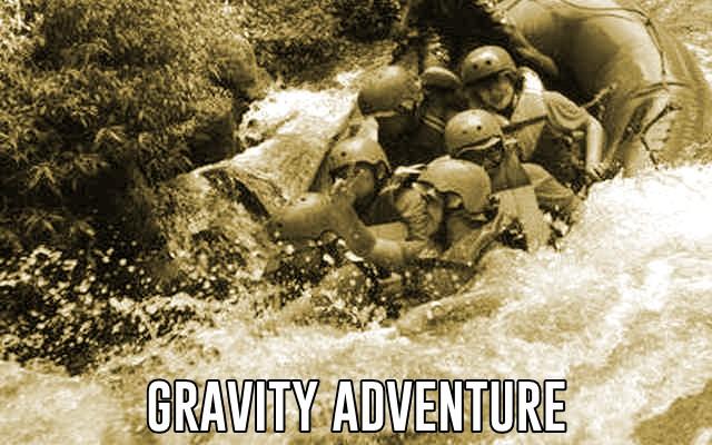 rafting palayangan bandung di gravity adventure