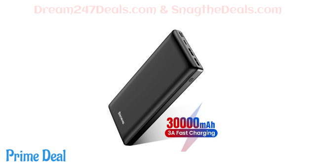30000mah power bank with triple outputs 40% OFF