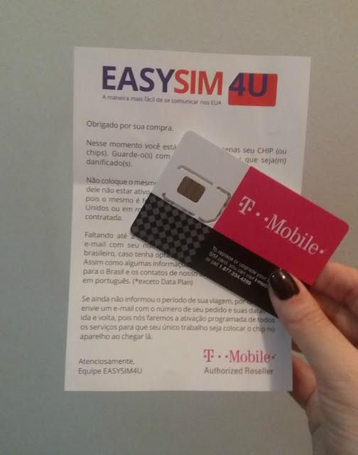Easysim4u - chip de celular no exterior