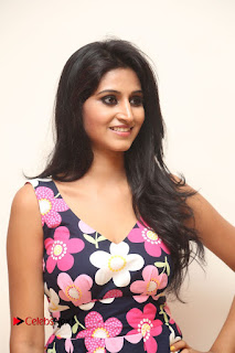 Model Shamili Latest Pictures in Floral Short Dress  0015.JPG