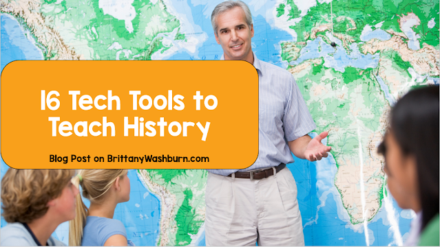 16 Tech Tools to Teach History