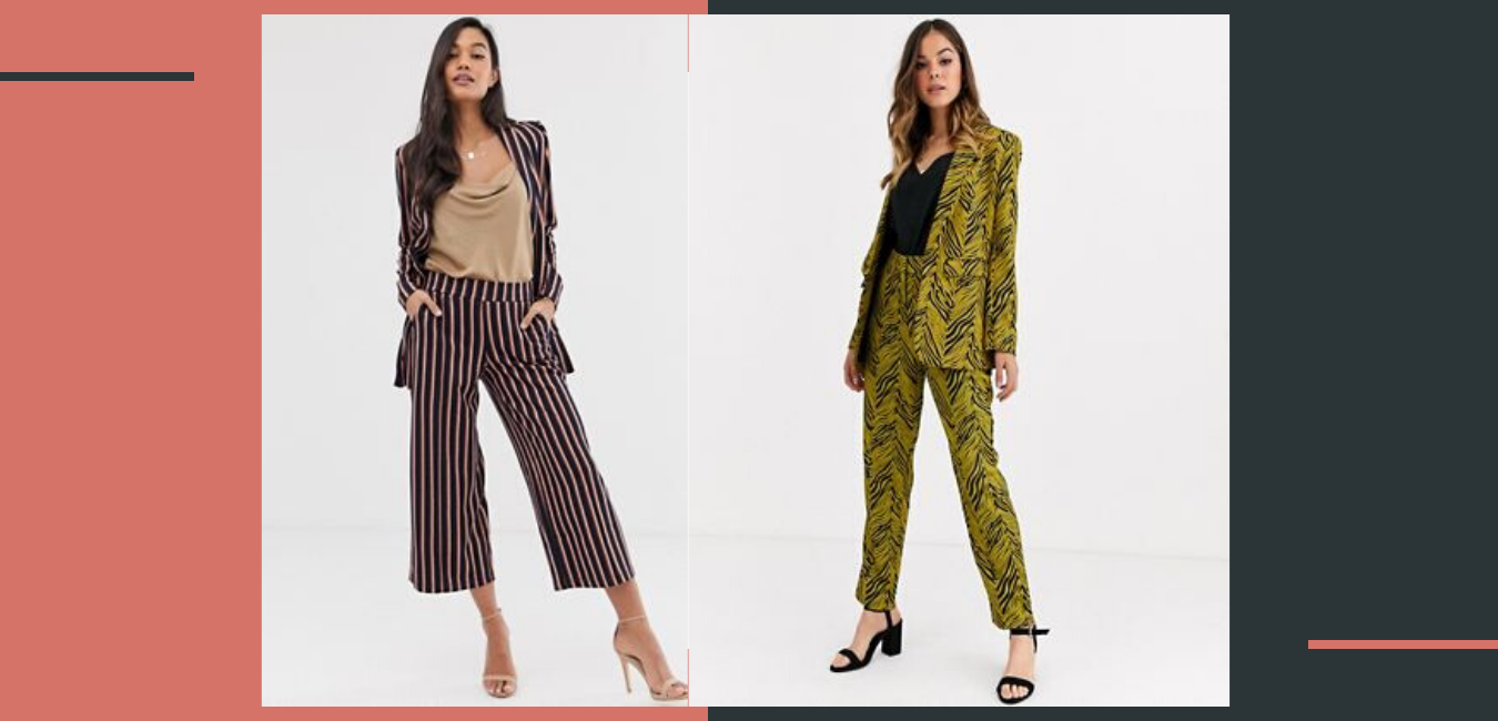 3 piece formula, work outfits, stripe blazers