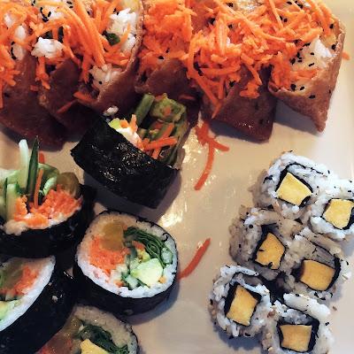 Sushis végératiens Sushi Shop restaurants