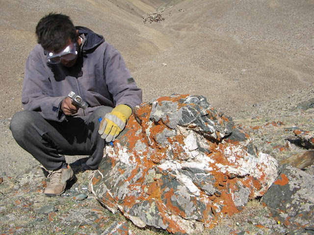 Glaciers in Mongolia's Gobi Desert actually shrank during the last ice age