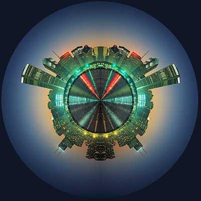 Membuat Efek Panorama Planet Dengan Photoshop