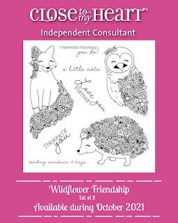 Wildflower Friendship Stamp Set