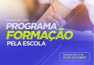 Programa Formação pela Escola abre cursos em Cajati