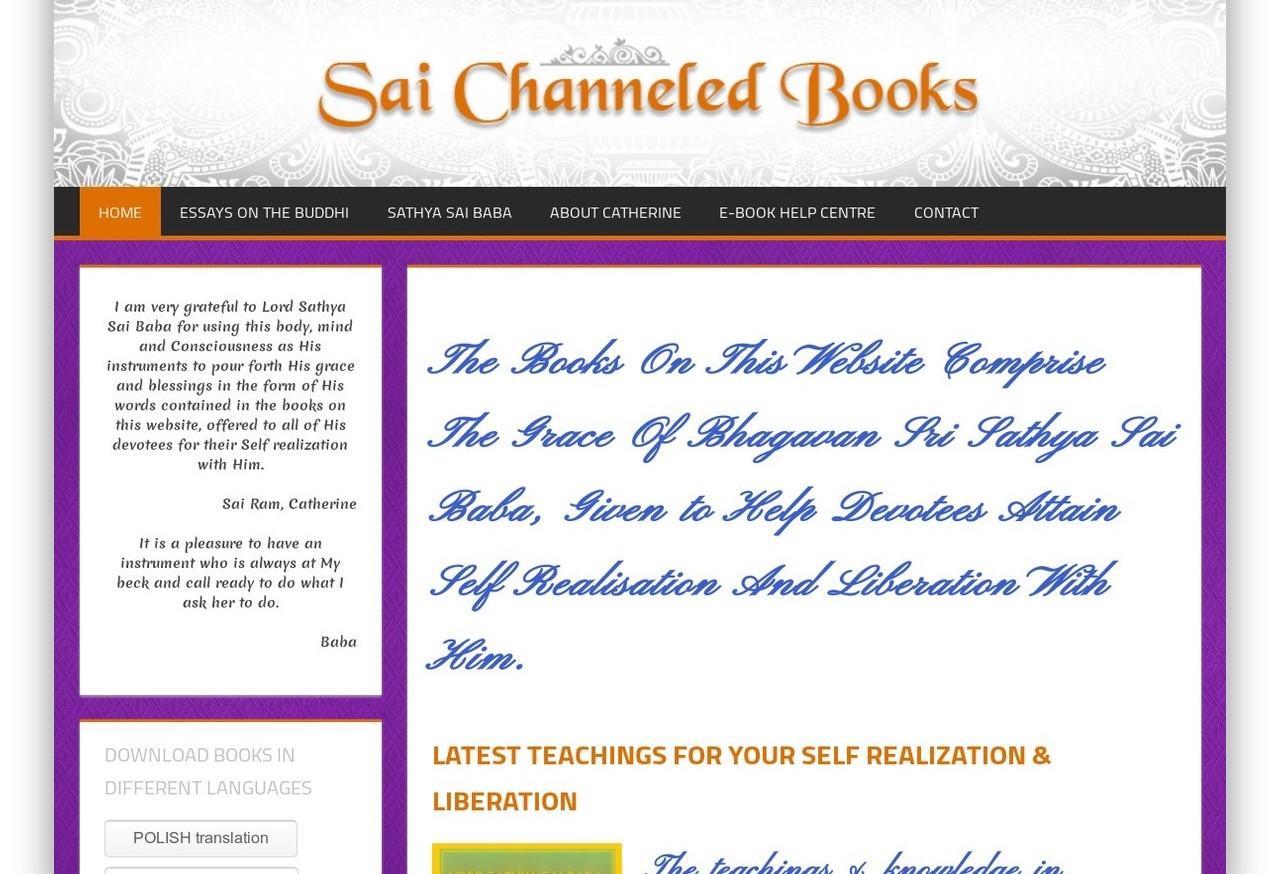 """Kodėl neliko svetainės """"Sai Channelled Books"""""""